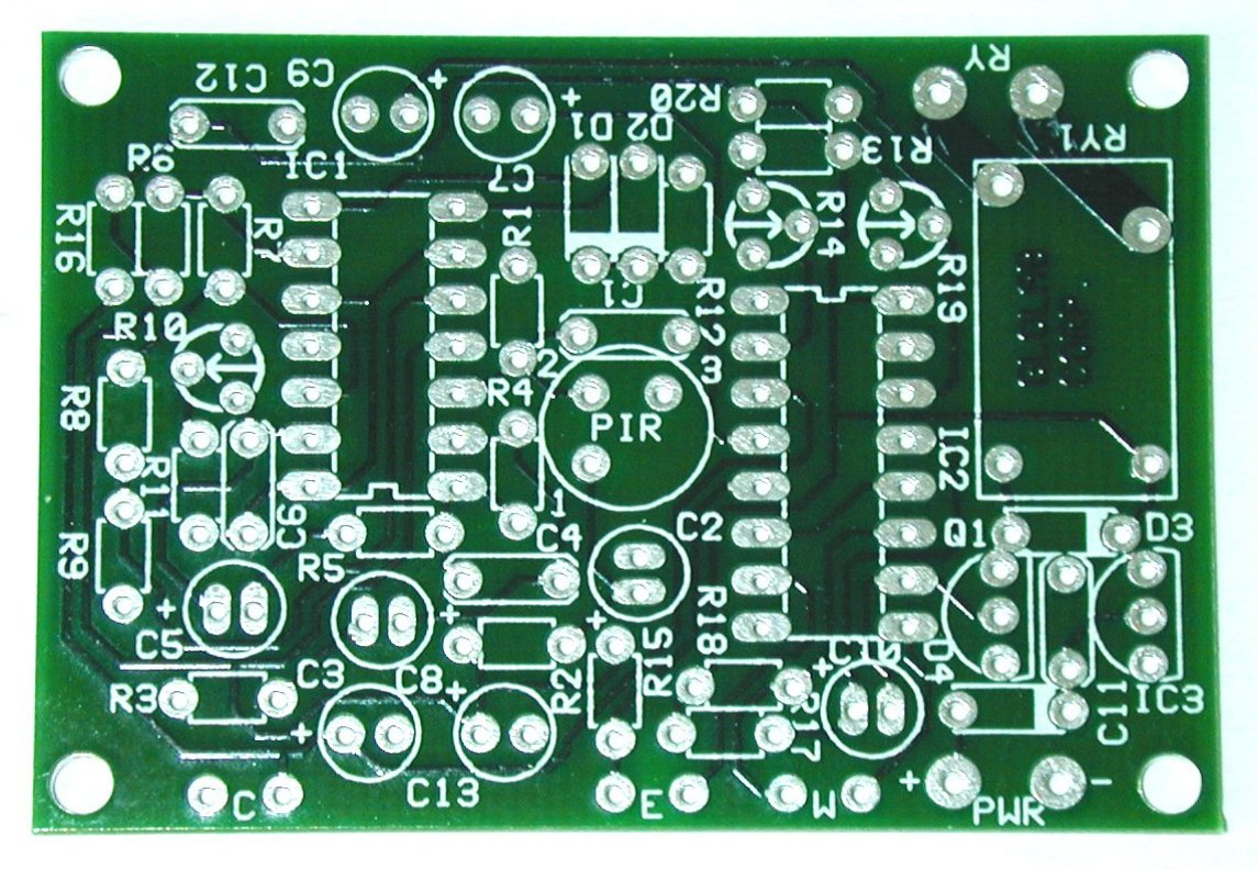 Pc Board Design Air Conditioner Control Pcb Boardpcb Printed Circuit Supplier Layout For Motion Detector