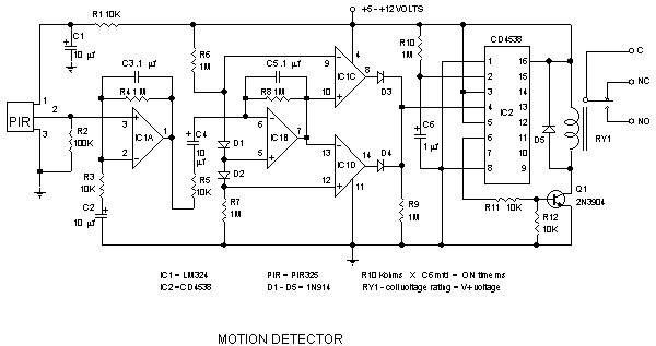 detector components  u0026 infrared motion work